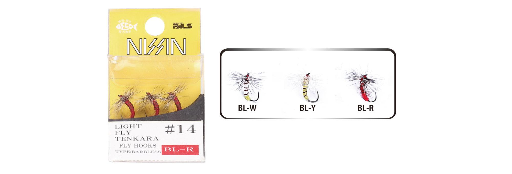LIGHT FLY TENKARA 毛鈎